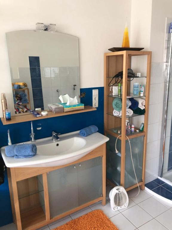 Ein Badezimmer in der Unterkunft Andrea