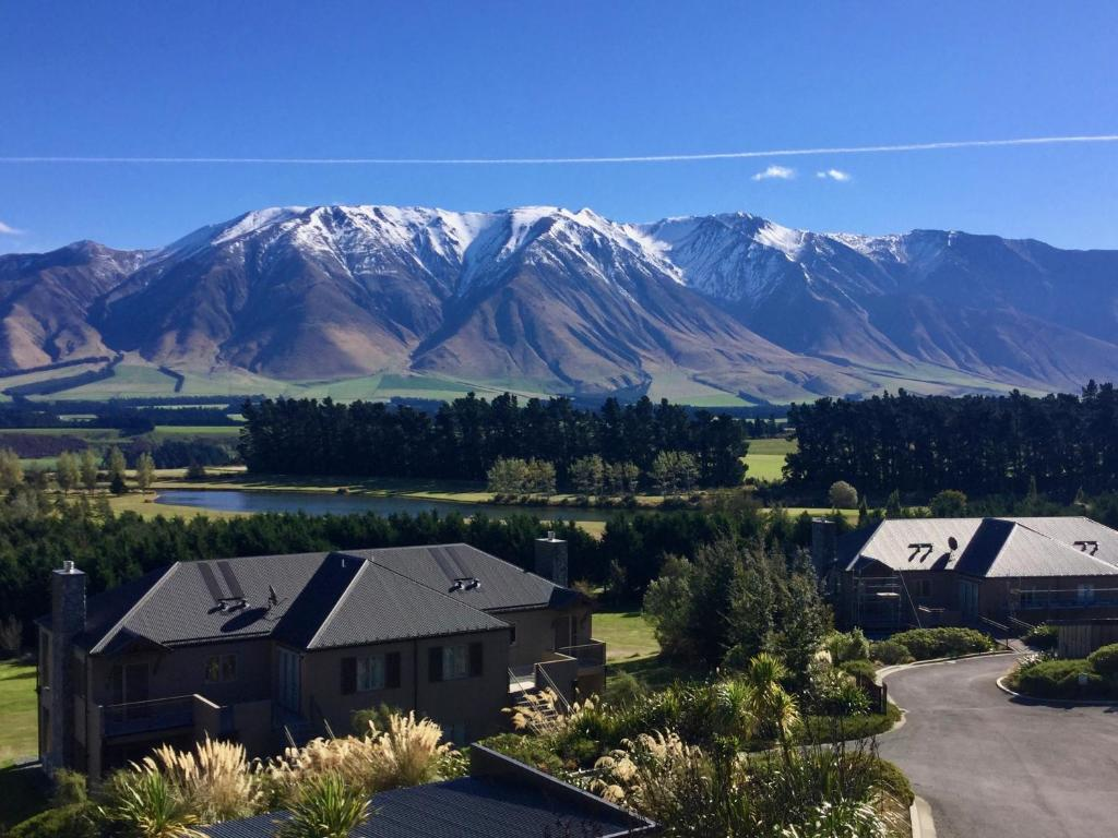 Üldine mäevaade või majutusasutusest Mt Hutt Highview pildistatud vaade