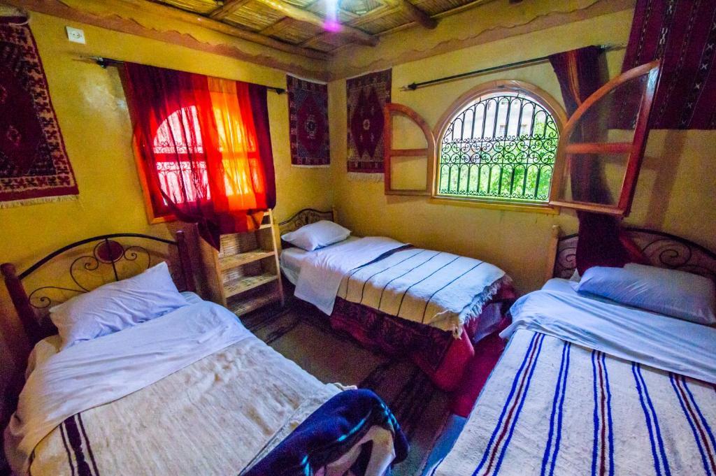 Cama o camas de una habitación en Dar tiwira