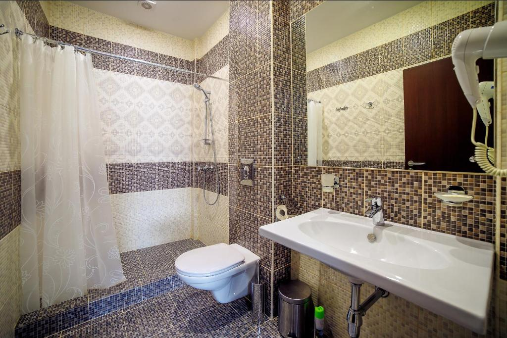 Ванная комната в Guest House Asteria