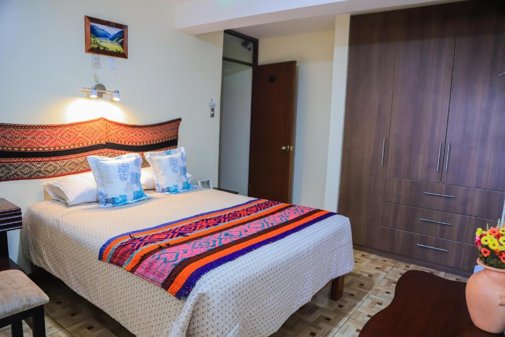 Cama o camas de una habitación en Hostal Dreams House