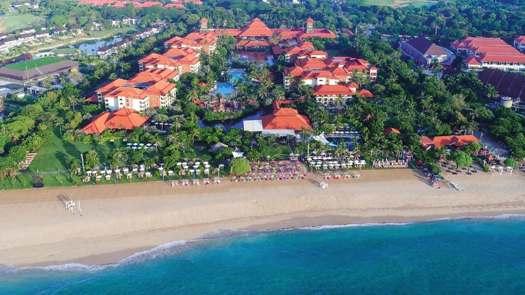 A bird's-eye view of Ayodya Resort Bali