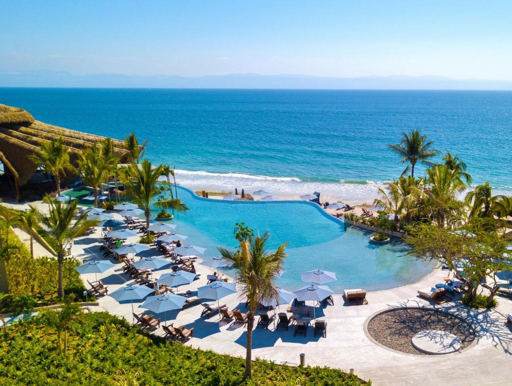 A view of the pool at Marival Armony Resort and Suites Punta de Mita or nearby