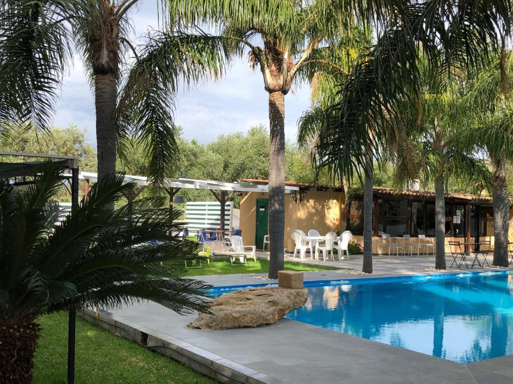 The swimming pool at or near La Petrara Resort