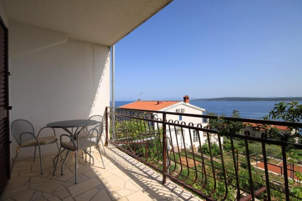 A balcony or terrace at Apartments with a parking space Zavala (Hvar) - 8773