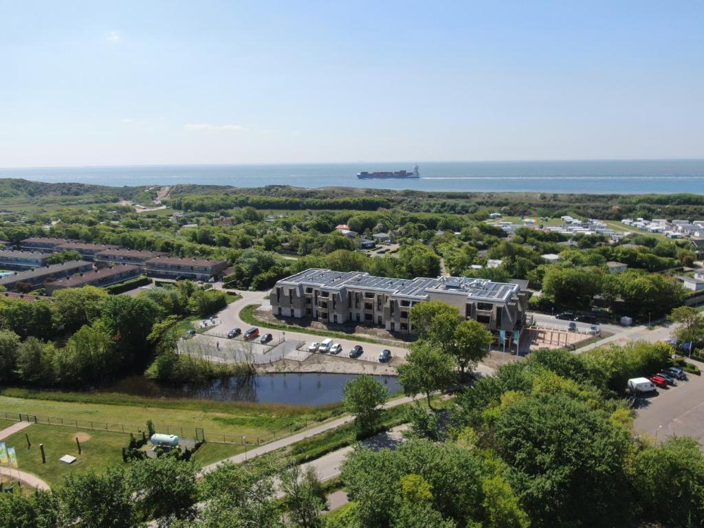 Een luchtfoto van Hotel Kaap West