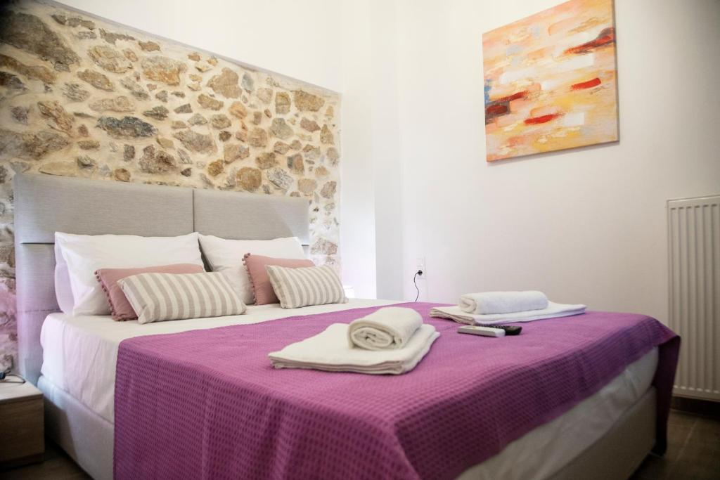 A bed or beds in a room at D&E Technopolis Apartments