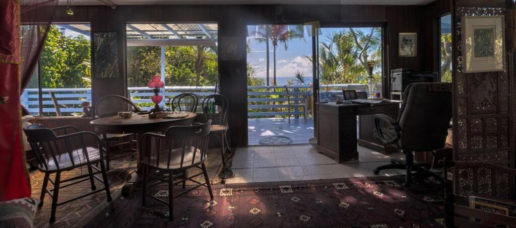 Um restaurante ou outro lugar para comer em Ma'ukele Lodge