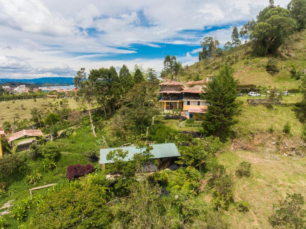 A bird's-eye view of Casa Encuentro by Haus