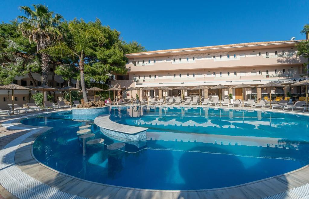 The swimming pool at or near Hotel Vasilikos Beach