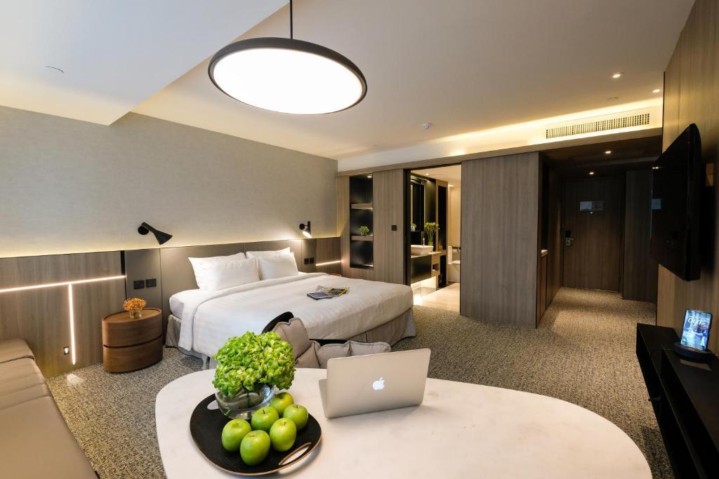 ห้องพักของ Nathan Hotel