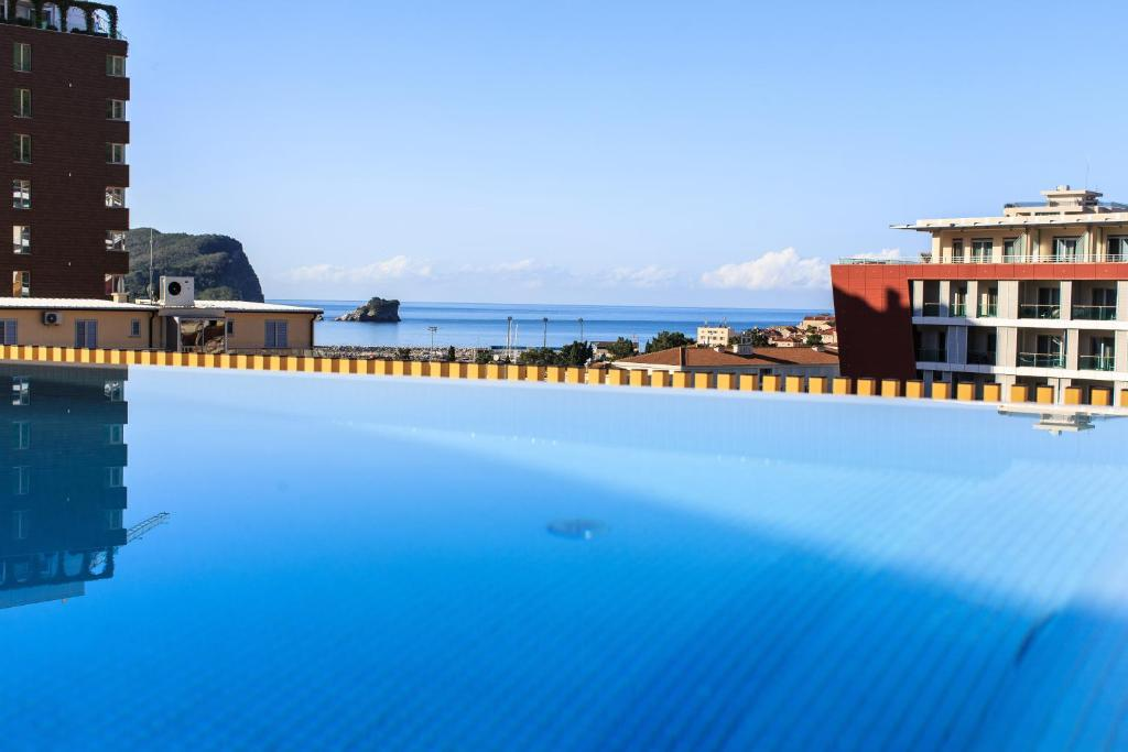 The swimming pool at or near Hotel Fagus