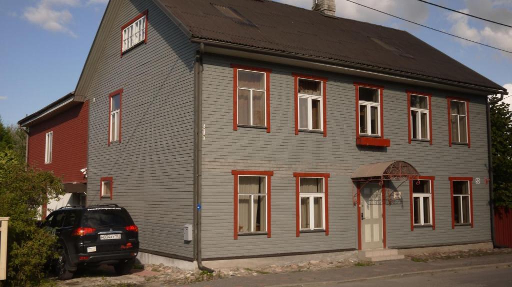 Hoone, kus kodumajutus asub