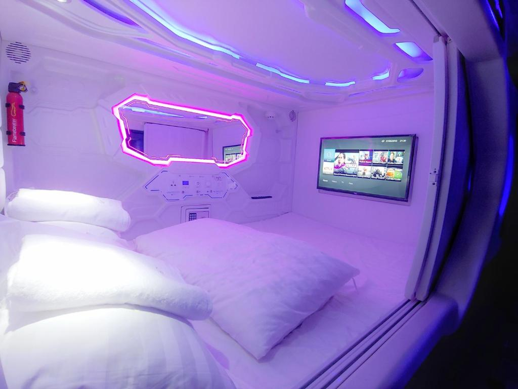 Spa and/or other wellness facilities at Met a Space Pod @ Asoke