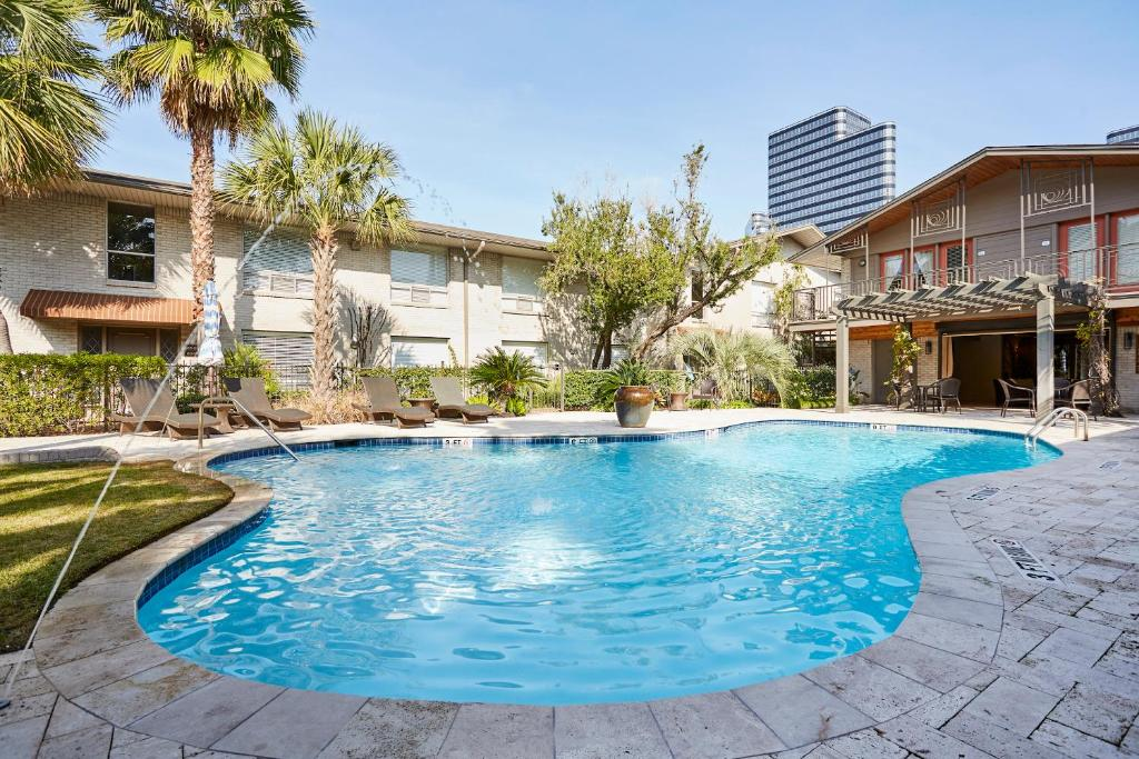 The swimming pool at or near Sonder — 2320 Marquee Uptown