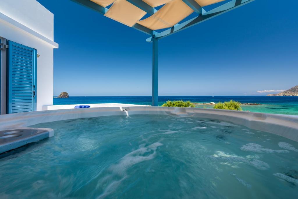 The swimming pool at or near Villa Marisol