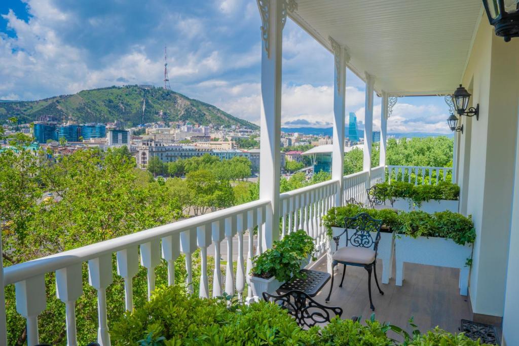 מרפסת או טרסה ב-Hotel Passport Tbilisi