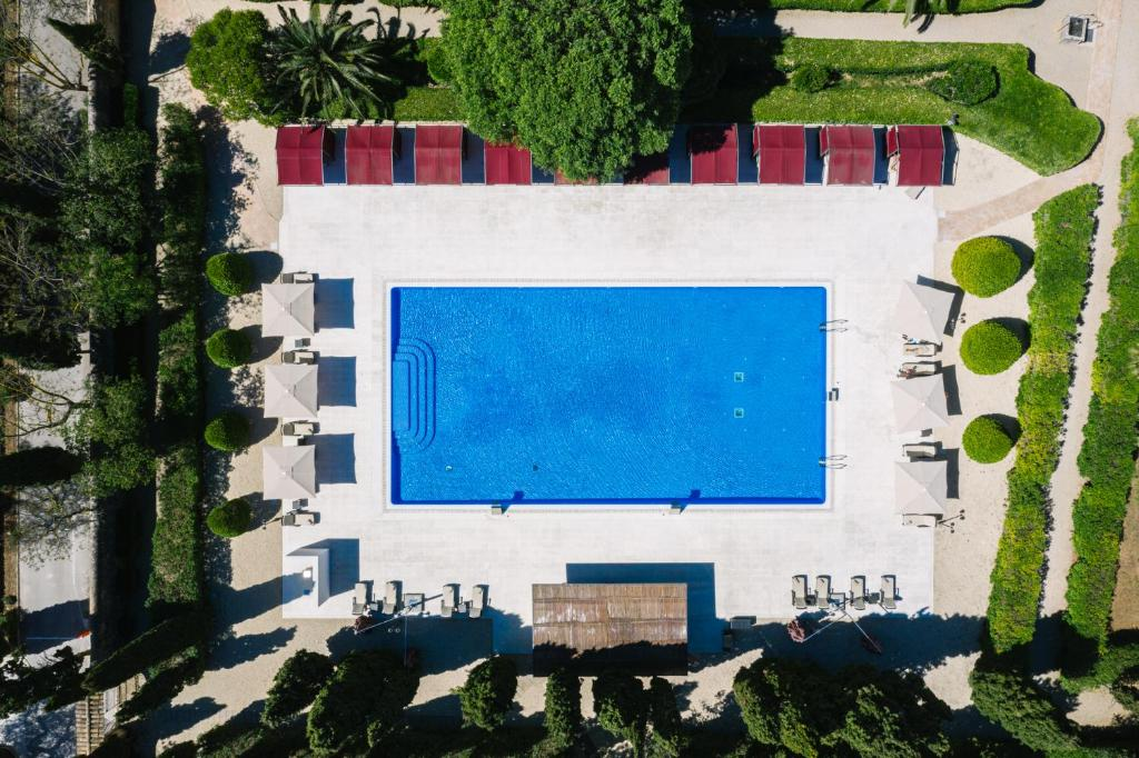 A view of the pool at Son Julia Country House Hotel or nearby