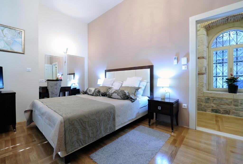 Cama o camas de una habitación en Palace Augubio