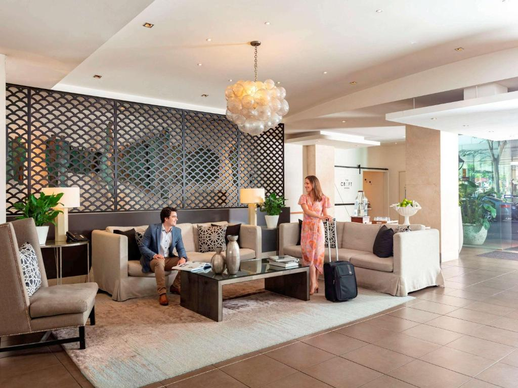 The lobby or reception area at The Sebel Brisbane