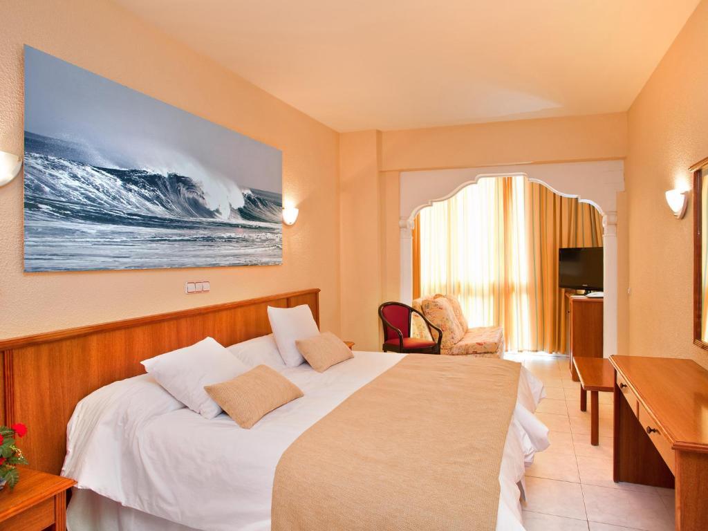 Cama o camas de una habitación en Magic Fenicia