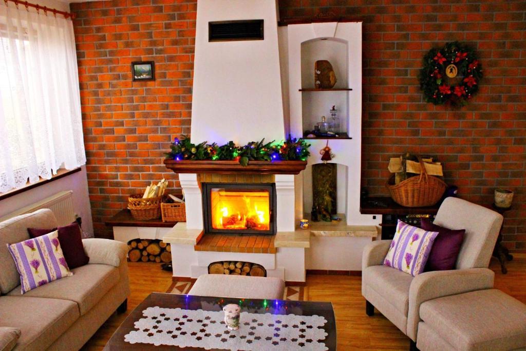 Posedenie v ubytovaní Clara Valis - Village House