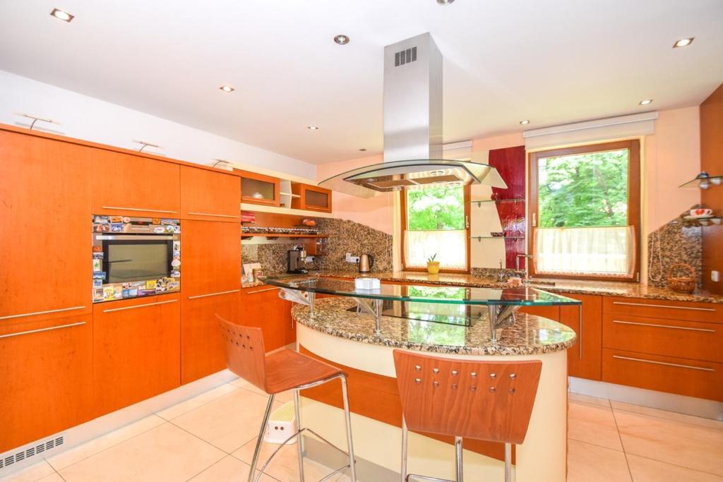 Kuchyňa alebo kuchynka v ubytovaní House