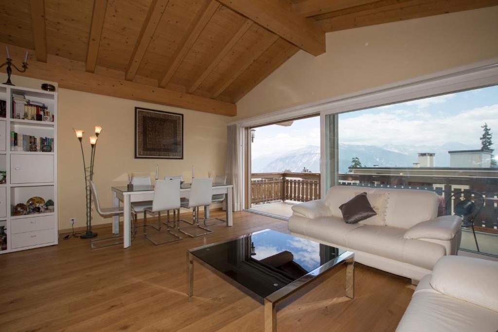Area soggiorno di Appartement Du Mont