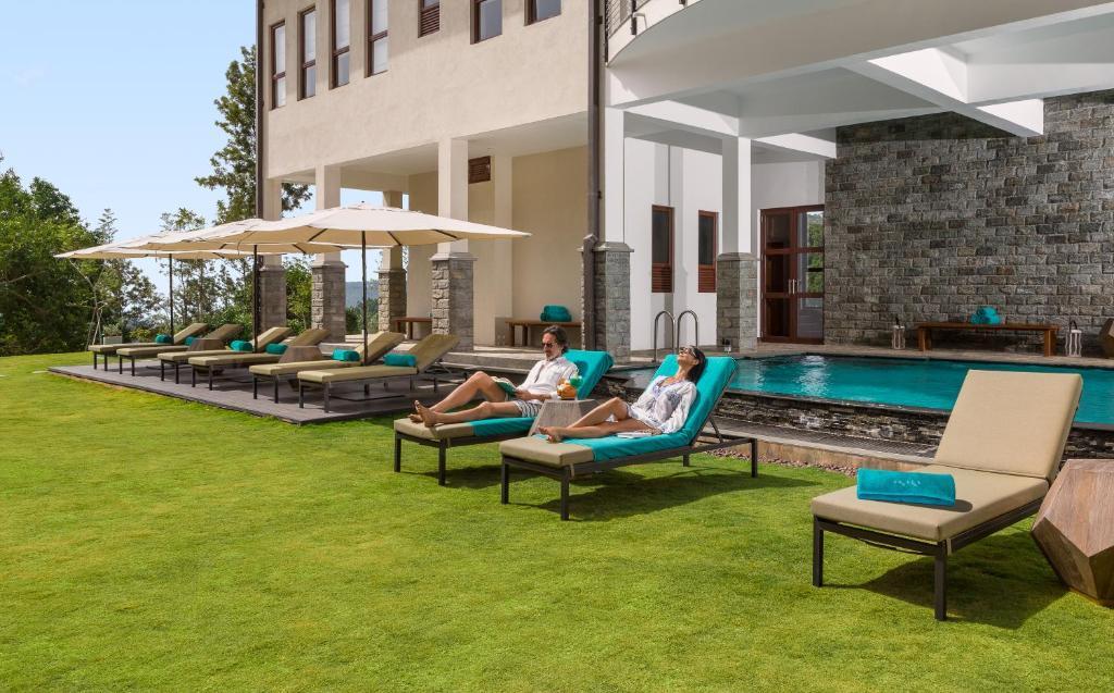 Het zwembad bij of vlak bij Anasa Wellness Resort