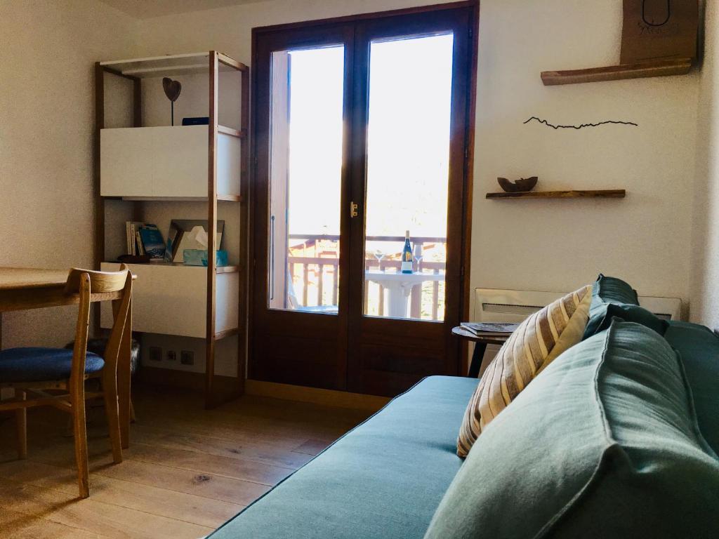 Appartement cosy et chaleureux à Megève avec vue sur le Mont ...