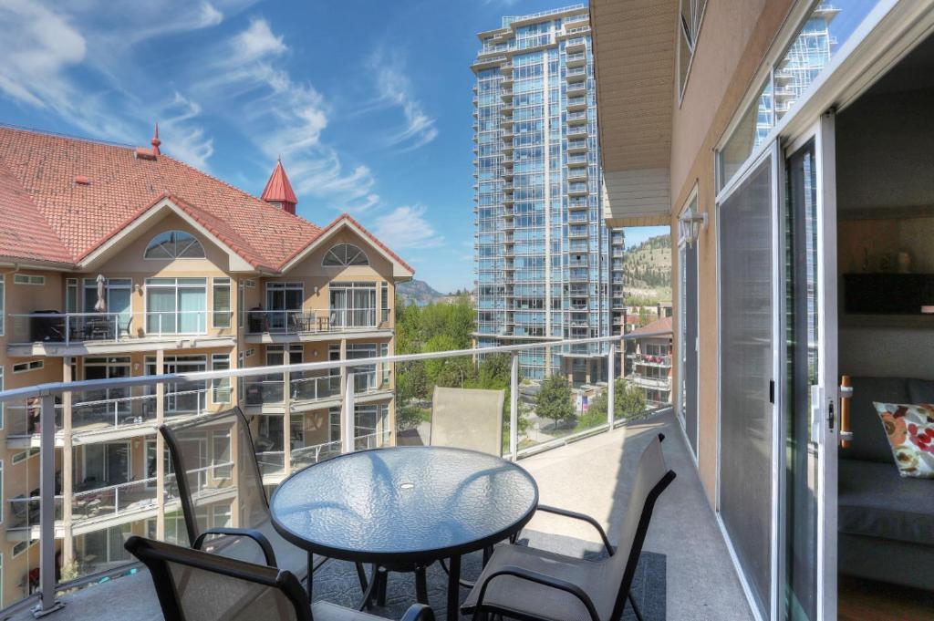 Un balcón o terraza de Apartment Discovery Bay