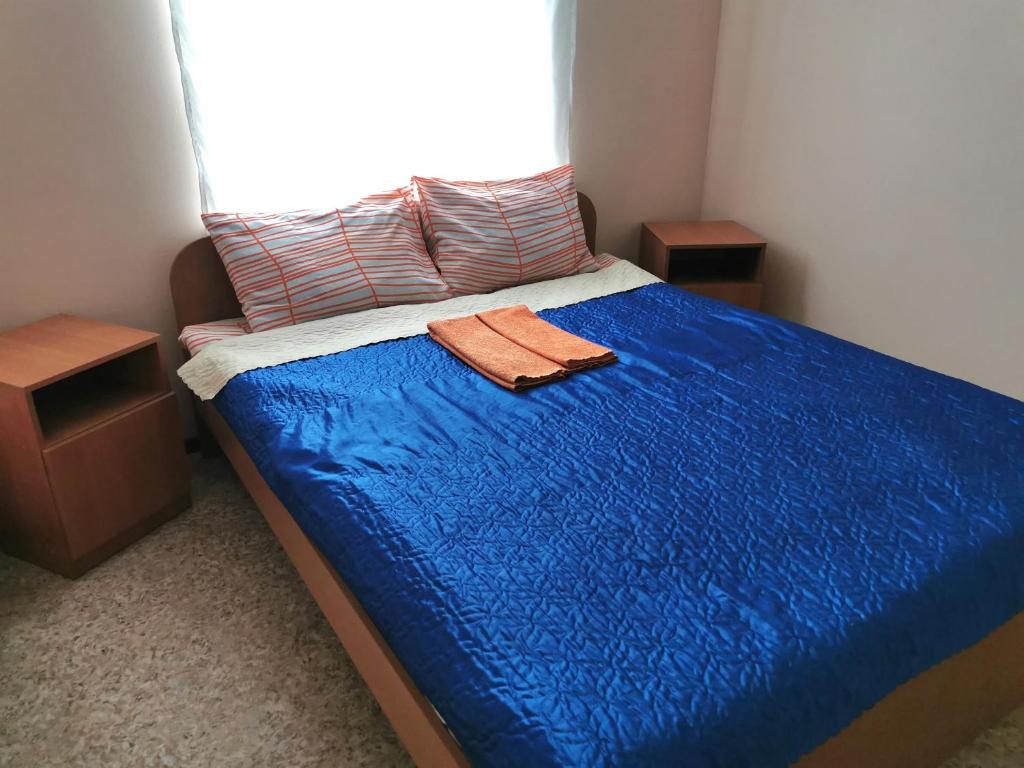 A bed or beds in a room at Hostel Tulka