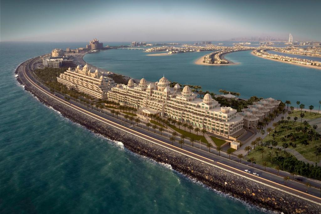 Emerald Palace Kempinski Dubai с высоты птичьего полета
