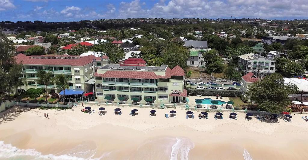 A bird's-eye view of Coral Mist Beach Hotel