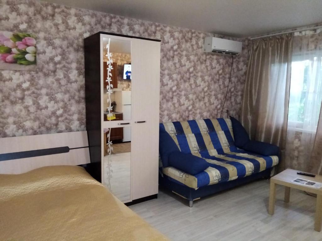 A seating area at Guest House on Pyatigorskaya Street