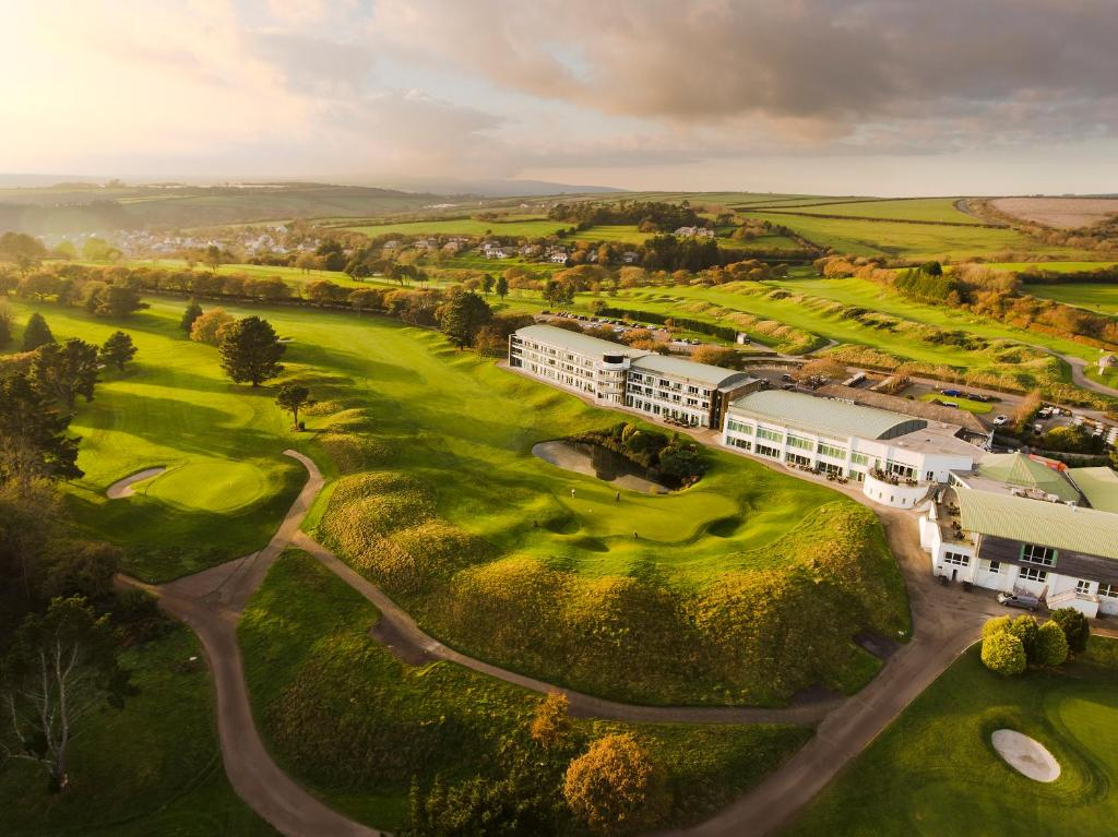 A bird's-eye view of St. Mellion International Resort