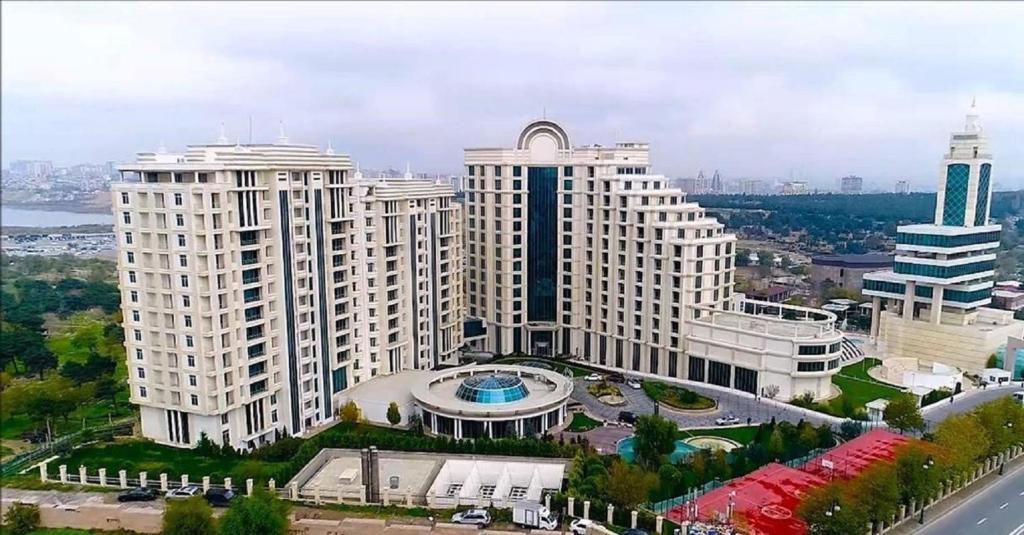 A bird's-eye view of Pullman Baku