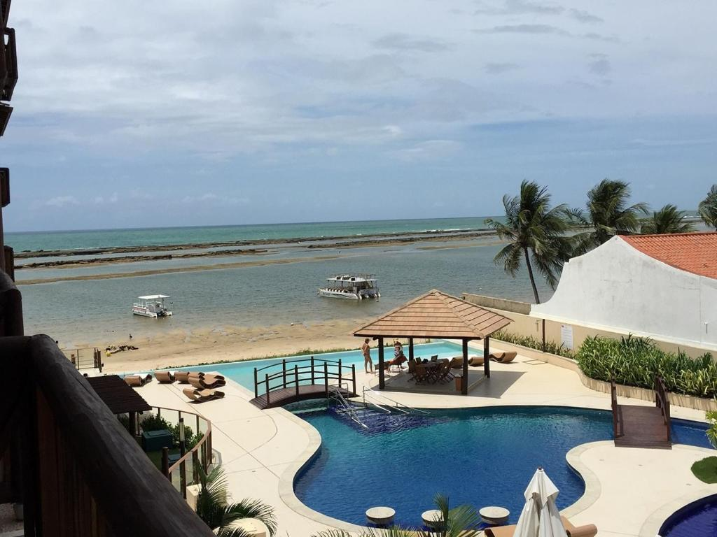 A view of the pool at Barra Bali Cond Resort 327 or nearby
