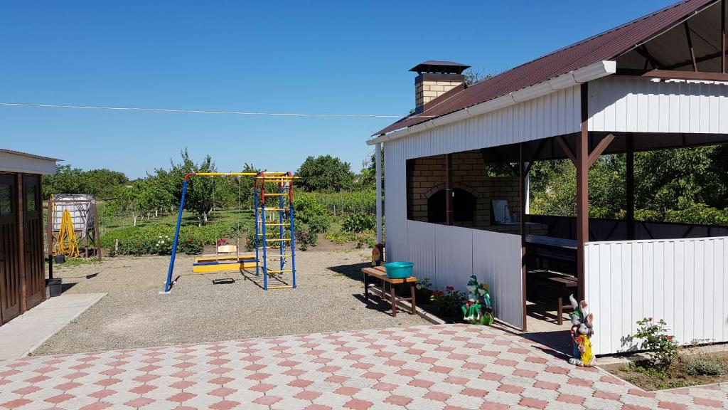 Children's play area at Guest House Azov