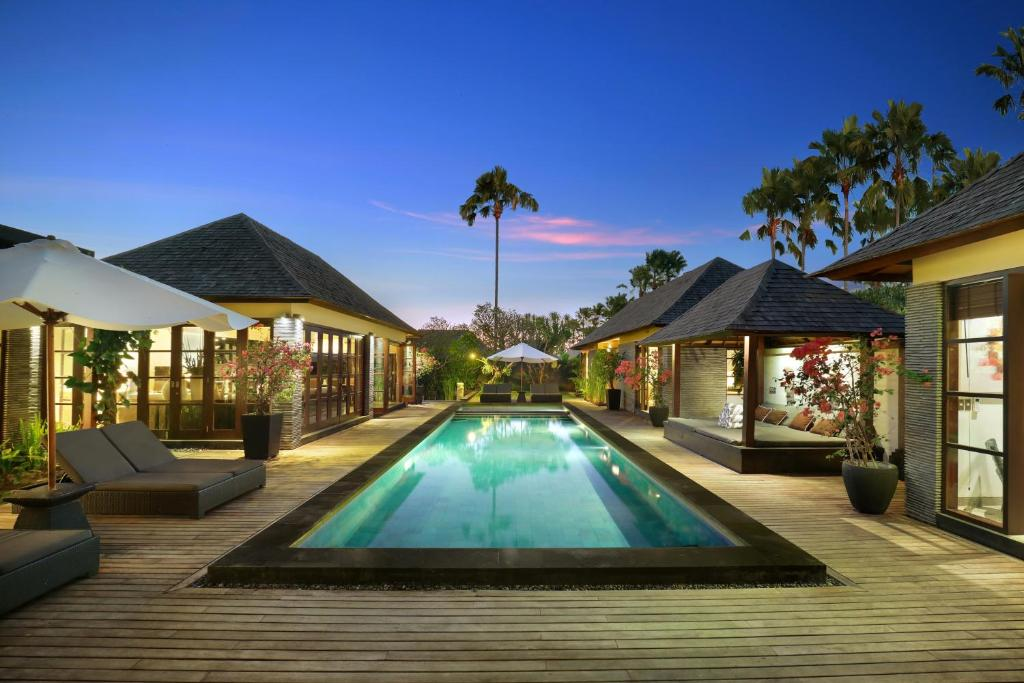 The swimming pool at or near Peppers Seminyak