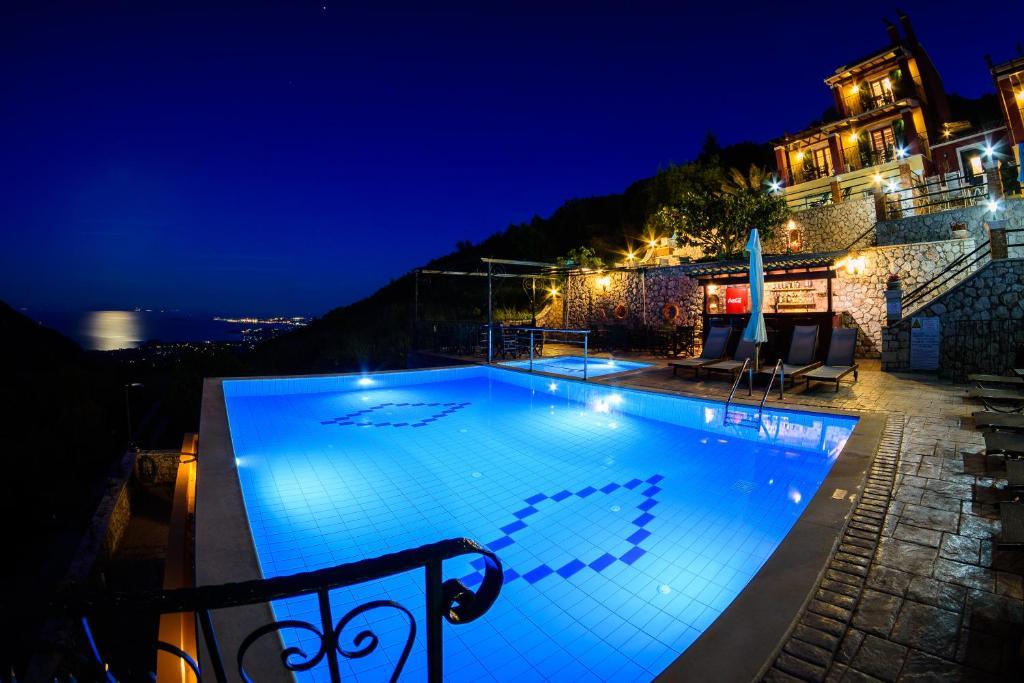 The swimming pool at or near Corfu Sokraki Villas