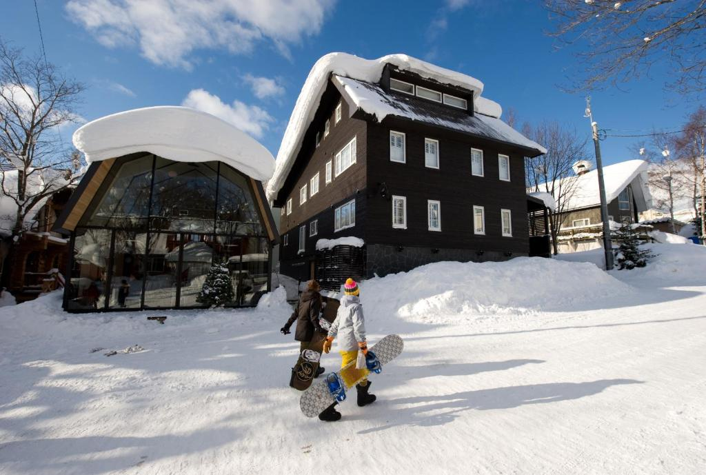 Kimamaya Boutique Hotel during the winter
