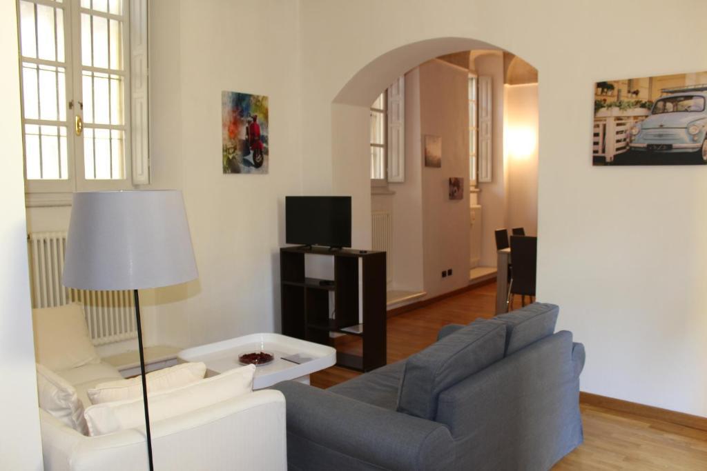 Area soggiorno di Dimora Petrarca