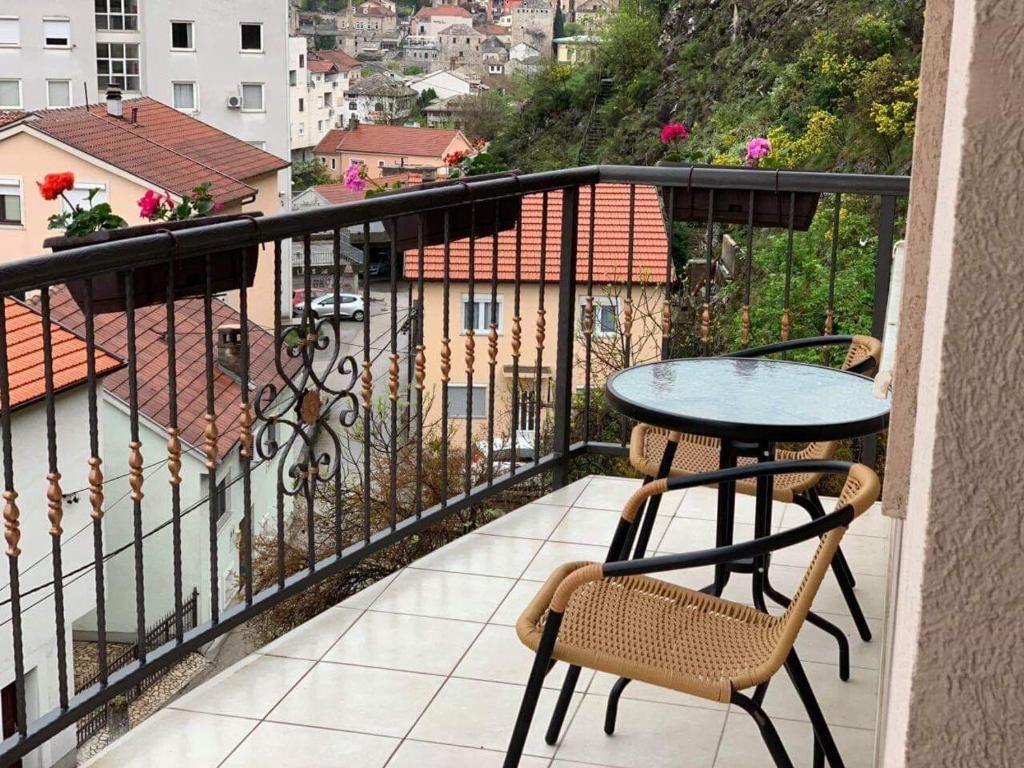 A balcony or terrace at Apartman Grande Ajna