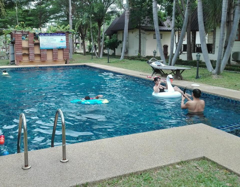 The swimming pool at or near Prachuap Garden View Resort