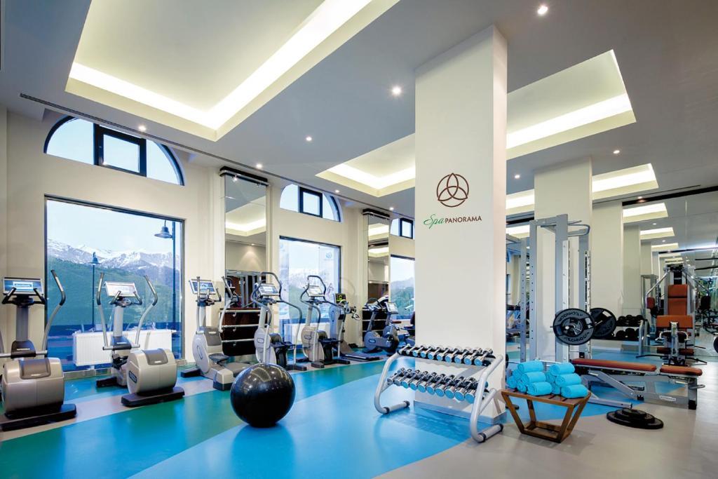 Фитнес-центр и/или тренажеры в Отель Горки Панорама