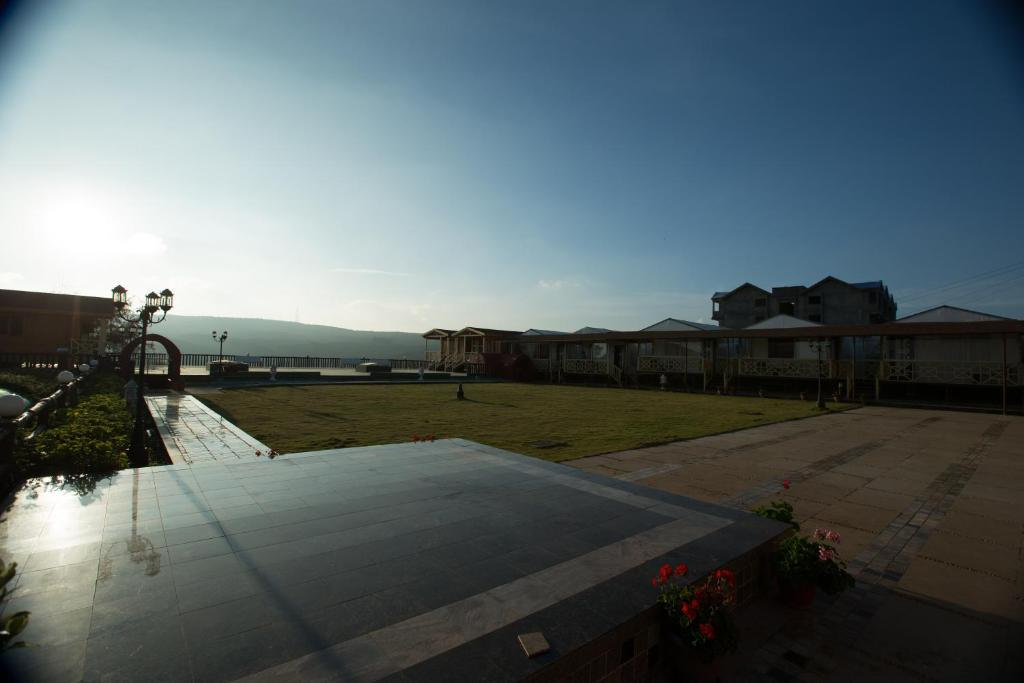 The swimming pool at or near TGL Resort & Spa Mahabaleshwar