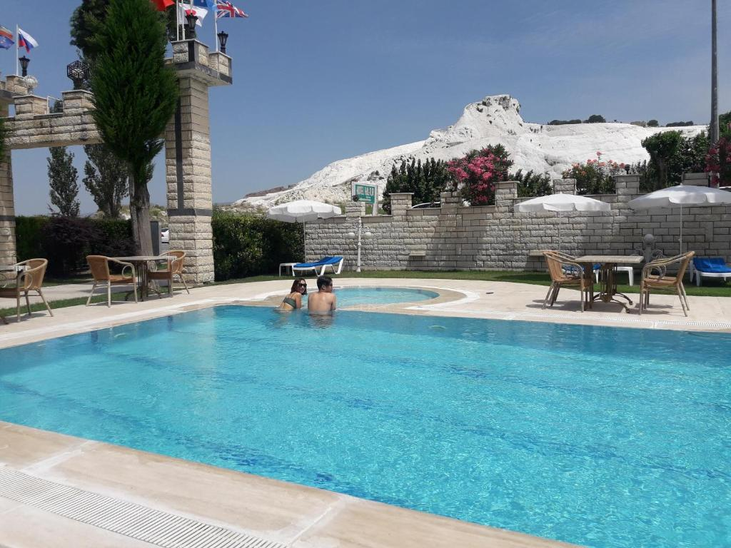 The swimming pool at or near Hal-Tur Hotel