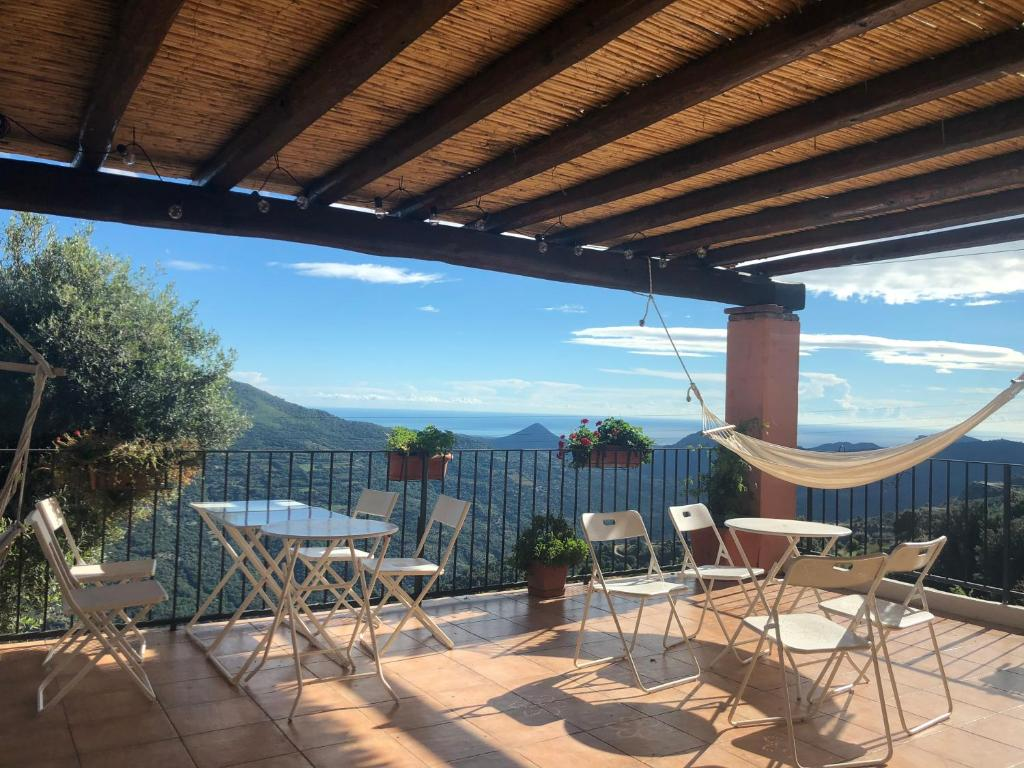 Balcone o terrazza di Bed and Breakfast Charlie Sardinia