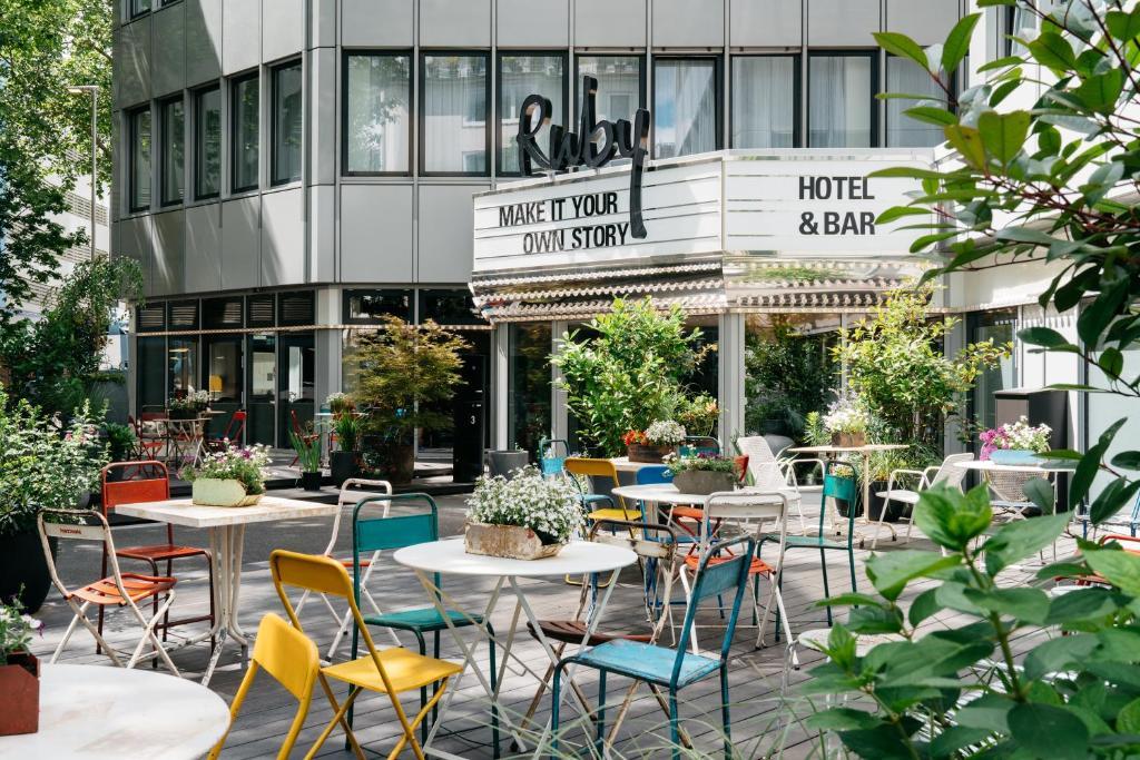 Ruby Leni Hotel Dusseldorf, Mai 2019